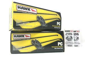 Hawk Ceramic Front + Rear Brake Pads Fits Camaro SS CTS V STS Volvo V70 R S60