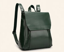 Japan Preppy Style Zipper School Bag - Blackish Green (TFK042255)