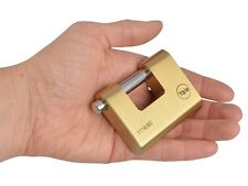 Yale Shutter Padlock Brass 60mm Large High Quality shed lock