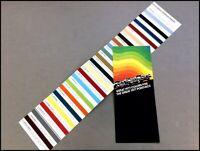 1977 Pontiac Original Color Paint Guide Car Sales Brochure - Firebird Grand Prix