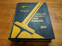 1974 Mitchell Manuals National Service Data Domestic Manual
