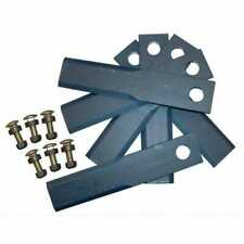 Straw Chopper Blade Kit 8 38 Double Bevel Compatible With John Deere 9400