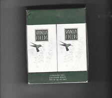 Coty Vanilla Fields Cologne Spray Two .75 Fl oz Bottles Original Packaging