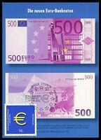 BUND MK 2002 EURO-EINFÜHRUNG PRIVATE !! MAXIMUMKARTE CARTE MAXIMUM CARD MC cc94