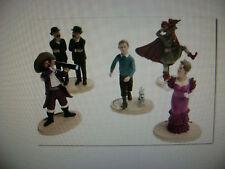 collection de 5 figurines tintin carrefour market NEUVES
