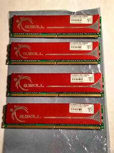 4GB G.Skill DDR2 RAM PC2-6400U CL5 800 MHZ 5-5-5-15 F2-6400CL5S-1GBNQ