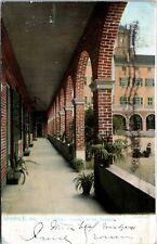Postcard AL Mobile Raphael Tuck - The Cloister Convent of the Visitation 1906 L7