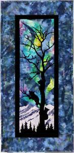 Wildfire Designs Alaska Aurora Nights From the Treetops Applique Quilt Pattern