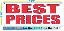 BEST PRICES Banner Sign NEW Larger Size Best Quality for The $$$ RESTAURANT