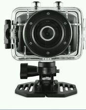 Ematic ActionCam HD Waterproof Cam Video Camera with Helmet Mount & Post Mount
