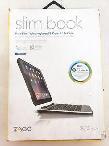 ZAGG Slim Book Bluetooth Tablet Keyboard