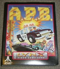 A.P.B  APB Empty Box For Atari Lynx Game Cartridge No Cartridge or Manual