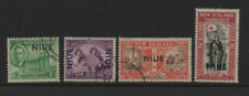 Niue 1946 Victory Peace fine used set stamps