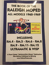 BOOK OF THE RALEIGH MOPED MANUAL RM.4 .5 .6 .8 .9 .11 .12 WISP ULTRAMATIC 60-69