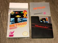 Metroid Nintendo Nes Complete CIB Great Condition Tested Authentic