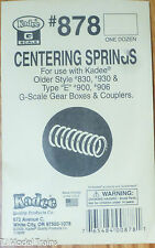 Kadee #878 (G Scale) Centering Springs for: #830,930,& Type E, 930, 906 (12 )