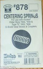 Kadee #878 (G Scale) Centering Springs for: #830,930,& Type E, 930, 906 (12 )