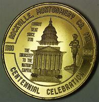 1960 Rockville Maryland 50 Cents Token Civil War Centennial Uncirculated