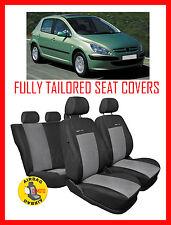Totalmente adaptado cubiertas de asiento para peugeot 307 conjunto completo (P2)