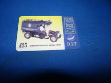 D.I.T Alternative Collection AC139 Renault £25 Phonecard New