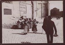 Roma Roma Italia Italia Foto amatore Vintage citrato 1898