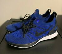 NEW Nike Air Zoom Mariah Flyknit Racer Blue Shoes 918264 007 Men's Size 12