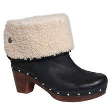 Original UGG Lynnea Clogs Boots, Leder, Stiefeletten Lammfell, Gr. 40, NP300€