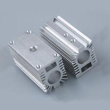 Silver 12mm Aluminum Cooling Housing Heat Sink Holder Mount Part F/ Laser Module