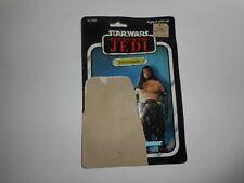 Vintage ROTJ 1983 Kenner Star Wars Rancor Keeper Card Back 77 Back