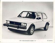 1981 Volkswagen Rabbit Model S ORIGINAL Factory Photo wn9777-AFGYXU