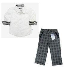Qualitativer 4tlg. RuggedButts Anzug~Hemd+Hose+Gilet+Krawatte Gr. 98