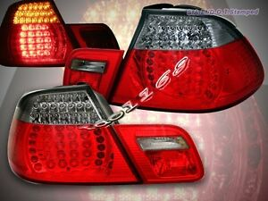 00-03 BMW E46 TAIL LIGHTS CONVERTIBLE 325 330 328 2001