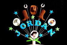 Toy Story Compleanno Cake Topper/Decorazione Personalizzata Nome, Età COLORI