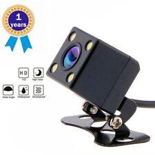 Car Rear View Reverse Backup Camera 12V Waterproof LED Parking Cam Night Vision
