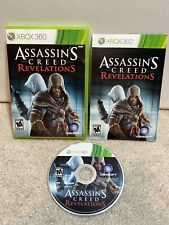 Microsoft Xbox 360 Assassins Creed Revelations Game Complete Clean/Tested/Works!