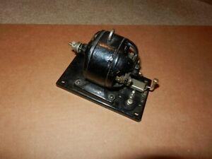 Antique Toy Electric Motor, Cast Iron, Original