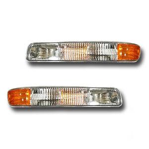 For 99-06 GMC Sierra Yukon Left + Right Signal Parking Side Marker Light 1 Pair