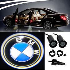 4x BMW Logo LED Light Bulbs proiezione CORTESIA LUCI DECORATIVE TUNING FASHION