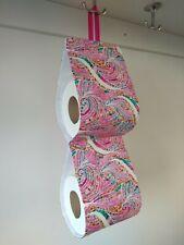 20 x 15 x 43 CM shabby Look Clayre /& Fed distributeur de papier toilette avec rose métal