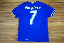 DEL PIERO 7 ITALY NATIONAL TEAM 2008/2009 HOME FOOTBALL SHIRT JERSEY SIZE MEDIUM