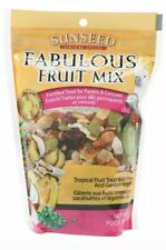 New listing Sunseed Fabulous Fruit Mix For Parrots & Conures 12 Oz