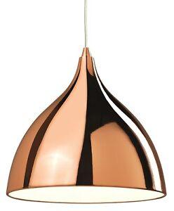 Firstlight Café Pendant Light in Copper 5746CP Modern Unique Kitchen/ Dining