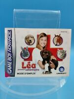 jeu video notice BE nintendo gameboy advance FRA lea passion veterinaire