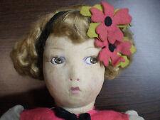 Bambola primi 900 stoffa e panno Lenci - Marca Lenci? Leggi descr