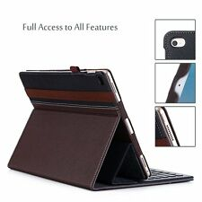 Apple iPad Case Pro Note 12.9-Inch Stand Smart Keyboard Elastic Leather Cover