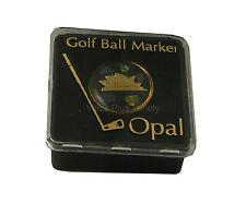 Golf Ball Marker Opal Chip Australian Made Souvenir Australia Sydney Opera House