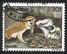 Botswana 1982. Nature. Birds. Barn Owl. 20t. Used.