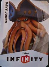 Disney Infinity 1.0 Pirates of the Carribean Davy Jones Web Code Card