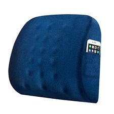 Memory Foam Lumbar Cushion Breathable Waist Cushion Back Massager for Seat Chair