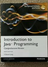 Introduction to Java Programming 9th edition by Y. Daniel Liang